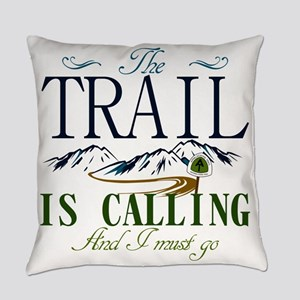 The Trail Is Calling [AT] Everyday Pillow